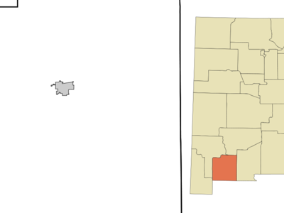 Location Of Columbus New Mexico