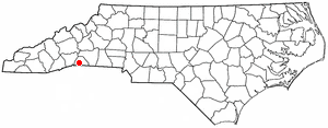 Location Of Columbus North Carolina