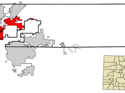 Location In Adams County And The State Of Colorado