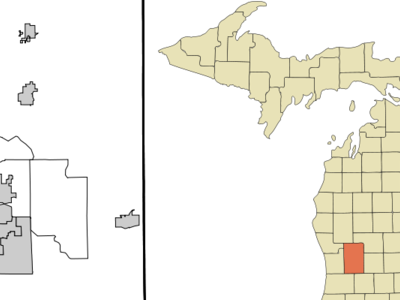 Location Of Comstock Park Michigan