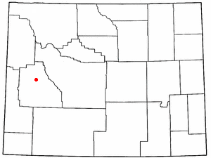 Location Of Cora Wyoming