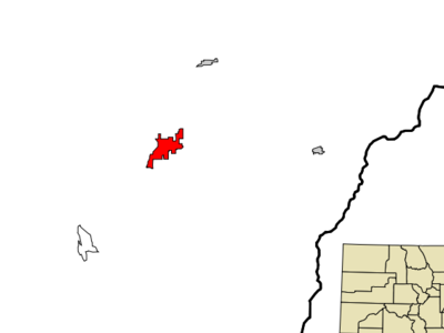 Location In Montezuma County And The State Of Colorado