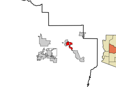 Location In Yavapai County And The State Of Arizona