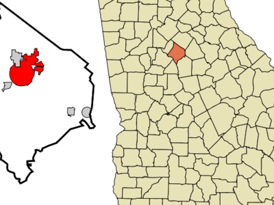 Location In Newton County And The State Of Georgia