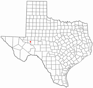 Location Of Crane Texas