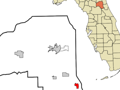 Location In Putnam County And The State Of Florida