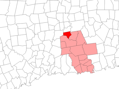 Location Within Middlesex County Connecticut