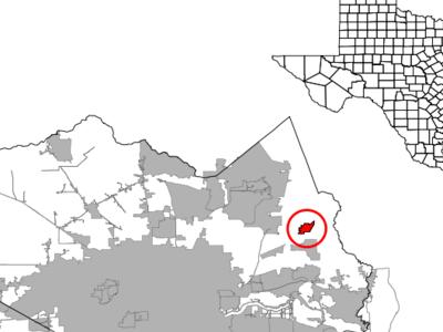 Location Of Crosby Texas