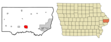 Location Of Dewitt Iowa