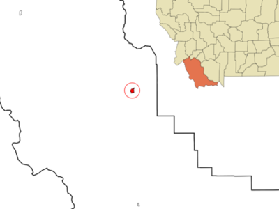 Location Of Dillon Montana