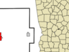 Location In Coffee County And The State Of Georgia