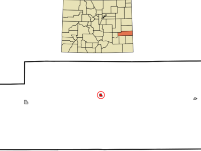 Location In Kiowa County And The State Of Colorado