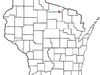 Location Of Eagle River Wisconsin
