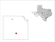 Location Of Eden Texas