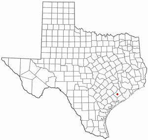 Location Of El Campo Texas