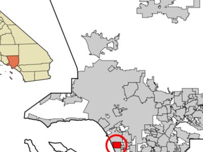 Location Of El Segundo In Los Angeles County California