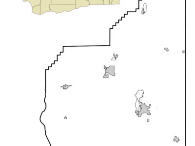 Location Of Electric City Washington