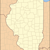 Location Of Elizabeth Within Illinois