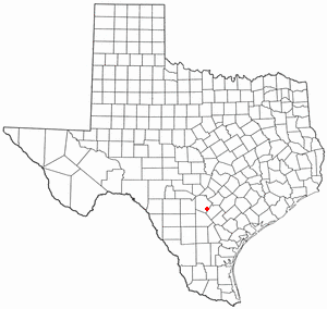 Location Of Elmendorf Texas