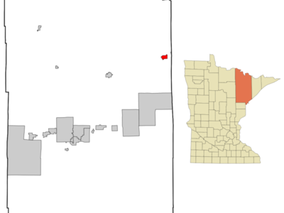 Location Of Ely In Saint Louis County Minnesota