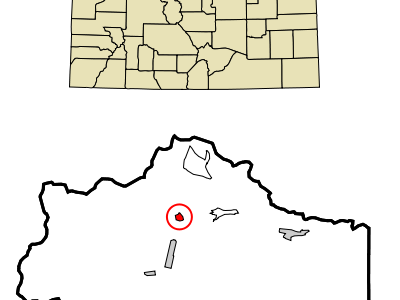Location In Clear Creek County And The State Of Colorado