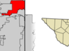 Location Of Euless In Tarrant County Texas