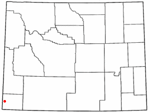 Location Of Evanston Wyoming
