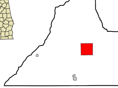 Location In Conecuh County And The State Of Alabama