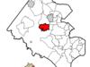 Location Of Fairfax Relative To Fairfax County Virginia