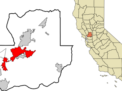 Location In Solano County And The State Of California