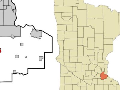 Location Of Farmington Minnesota