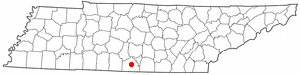 Location Of Fayetteville Tennessee
