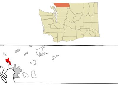 Location Of Ferndale Washington