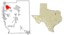 Location Of Forney In Kaufman County Texas