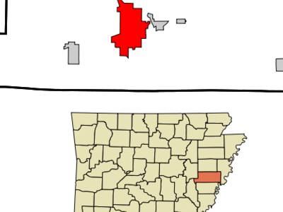 Location In St. Francis County And The State Of Arkansas
