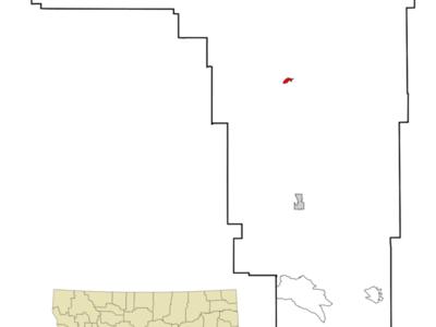 Location Of Forsyth Montana