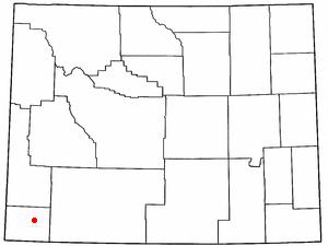 Location Of Fort Bridger Wyoming