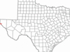 Location Of Fort Hancock Texas