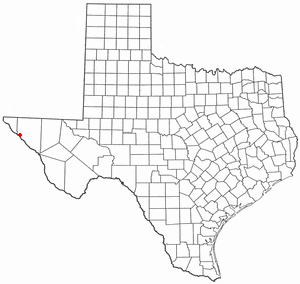 Location Of Fort Hancock Texas