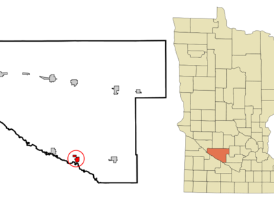 Location Of Franklin Minnesota