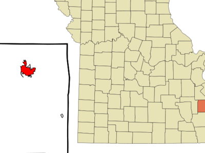 Location Of Fredericktown Missouri