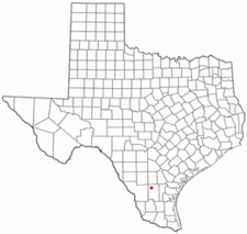 Location Of Freer Texas