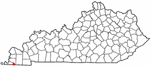 Location Of Fulton Kentucky