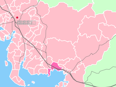 Location Of Gamagriin Aichi