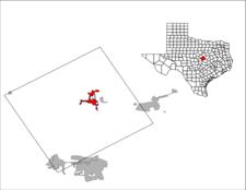 Location Of Gatesville Texas