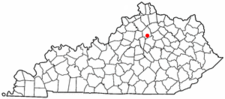 Location Of Georgetown Kentucky