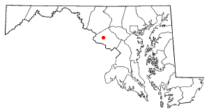 Location Of Germantown Maryland
