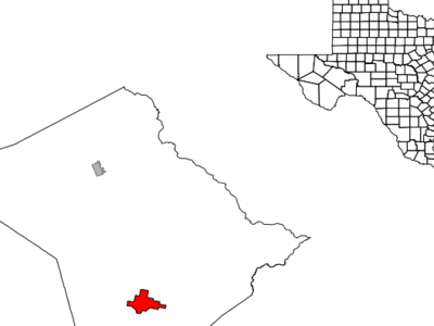 Location In Lee County In The State Of Texas