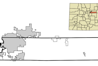 Location In Arapahoe County And The State Of Colorado