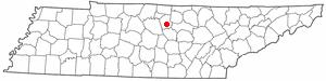 Location Of Gordonsville Tennessee
